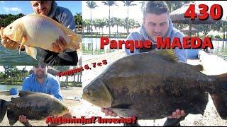 Diversão no Parque Maeda no Inverno - Fishingtur na TV 430