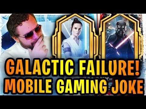 galactic legends is the biggest joke in mobile gaming history what is cg doing to swgoh?