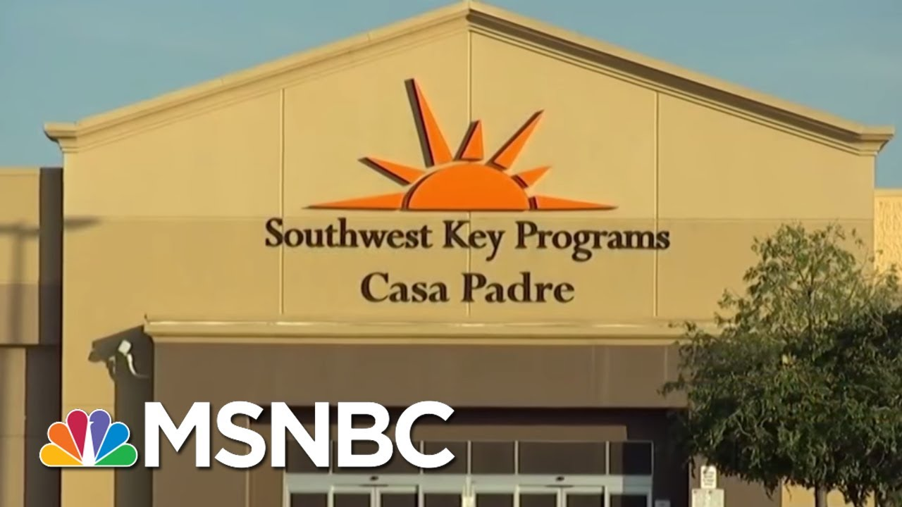 1,400+ Immigrant Boys Are Being Housed In A Former Wal-Mart | MSNBC thumbnail