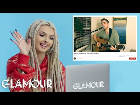 Zhavia Watches Fan Covers on YouTube   Glamour