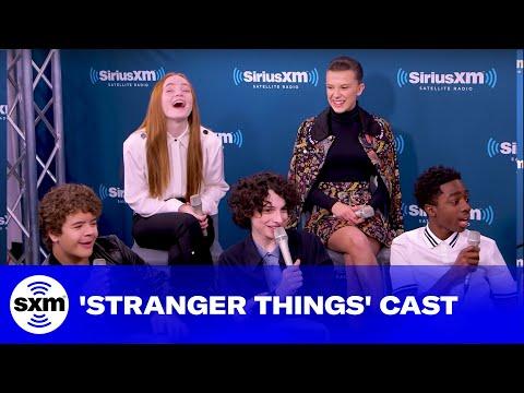 Cast of Stranger Things Hopes for Season 3   SiriusXM Entertainment Weekly Radio