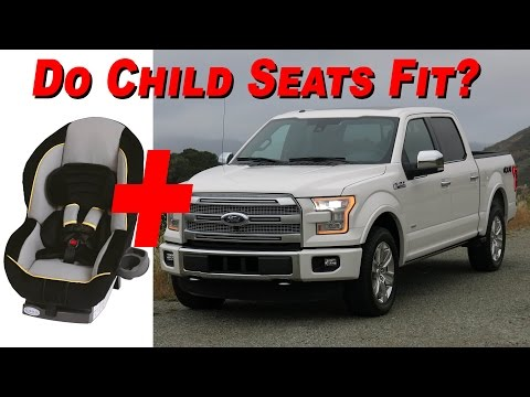 2015 – 2016 Ford F 150 SuperCrew Child Seat Review – 4K