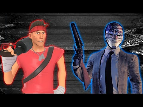 PAYDAY 2 Builds - Scout from Team Fortress 2
