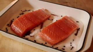 Food Wishes Recipes – Salmon Baked on Salt Recipe – Salmon Baked on Aromatic Salt