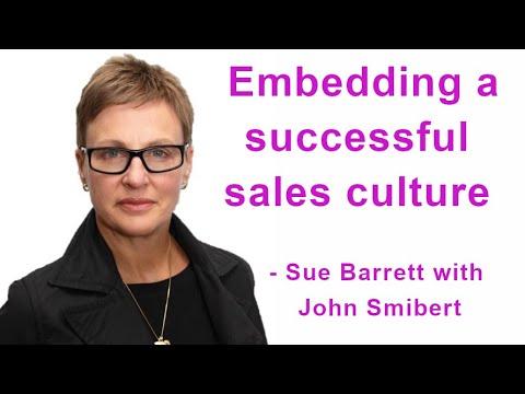 "TALKING SALES 159: ""Embedding a successful sales culture"" - Sue Barrett  - Video Image"