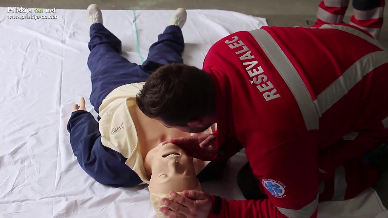 Predstavitev delovanja AED v Cezanjevcih