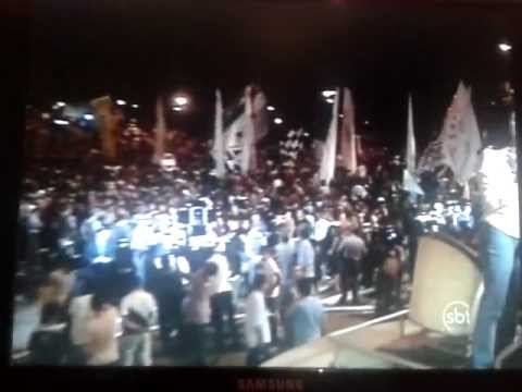 Torcida do Corinthians Invadindo Aeroporto