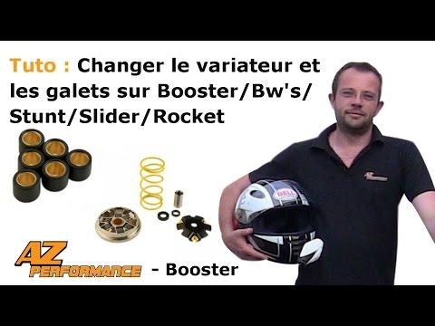 Changer le variateur et/ou les galets de son Booster / Stunt / Rocket / ...