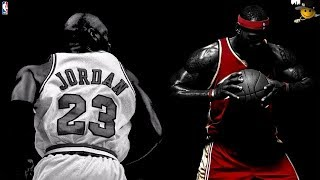 Michael Jordan will Always Be The Greatest of All Time (Jordan vs James)