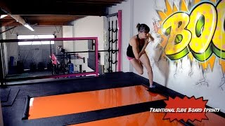 21 Slide Board Exercises for Slide Board Workouts