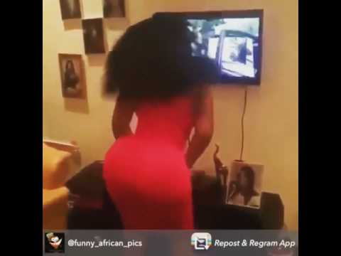 Watch omotola shaking her ass in a new movie