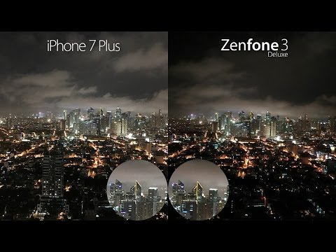 iPhone 7 Plus vs Zenfone 3 Deluxe Camera Review + Comparison