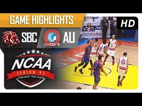 SBC vs. AU | NCAA 93 | MB Game Highlights | August 29, 2017