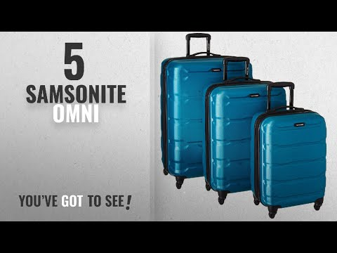 Top 10 Samsonite Omni [2018]: Samsonite 68311-2479 Omni PC Hardside Spinner 20 24 28, Caribbean