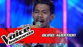 Syahril - Yang Terlupakan | Blind Auditions | The Voice Indonesia GTV 2018