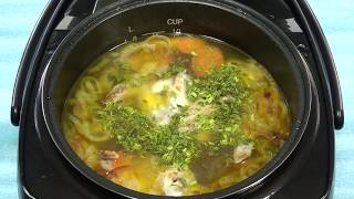 Куриный суп с вермишелью в REDMOND-M70