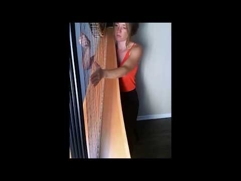"Harp Cover of ""Falling Slowly"""