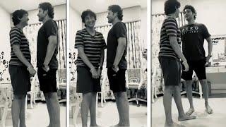 Mahesh Babu Height Challenge With His Son Gautam | Mahesh Babu Family Fun
