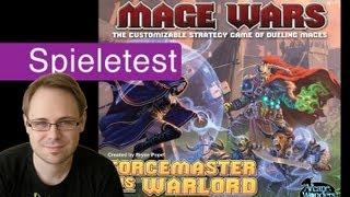 Mage Wars: Forcemaster vs. Warlord Expansion (Spiel) / Anleitung & Rezension / SpieLama