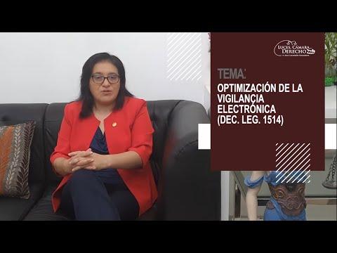 OPTIMIZACIÓN DE LA VIGILANCIA ELECTRÓNICA D. LEG. 1514 - Luces Cámara Derecho 181