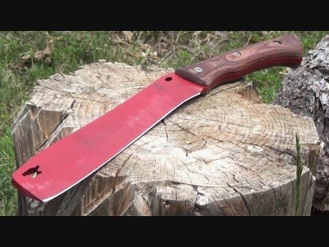 Buck Compadre Chopping Froe Machete Review