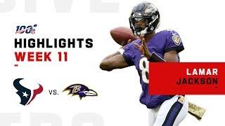 Lamar Jackson Is a Scoring Machine! | NFL 2019 Highlights