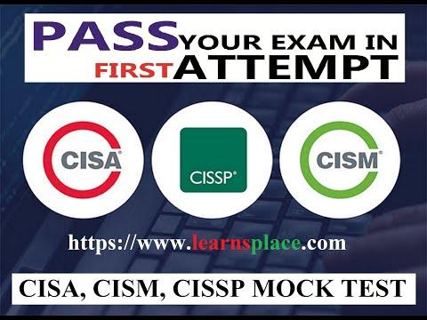 CISA Online Test   CISSP Mock Test   CISM Practice Test - YouTube
