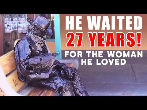 The Bronze Cowboy Who Waited 27 Years for His Love!