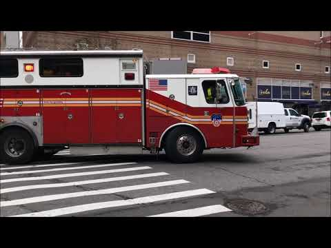 "COMPILATION OF FDNY RESCUE 1 ""ONLY"" RESPONDING IN VARIOUS NEIGHBORHOODS OF MANHATTAN, NEW YORK.  03 Mp3"