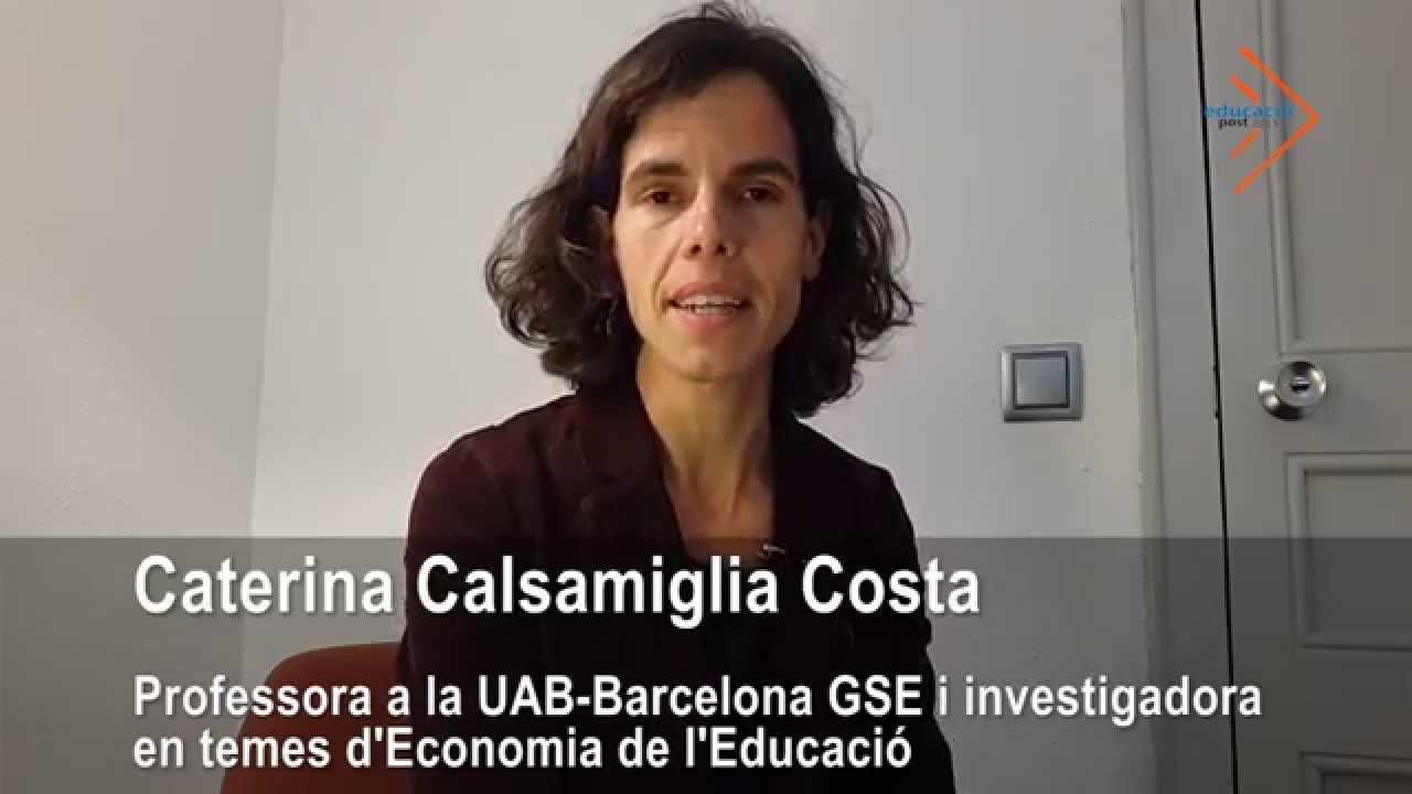 Mètodes d'èxit i anàlisi de l'avaluació en relació als objectius del sistema educatiu-C. Calsamiglia