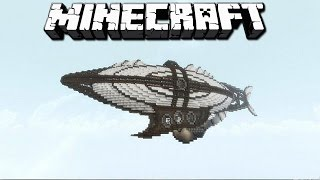 Дирижабль из Battlefield в Майнкрафт | Обзор мода Minecraft