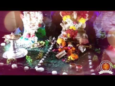 Sagar Gondhalekar Home Ganpati Decoration Video
