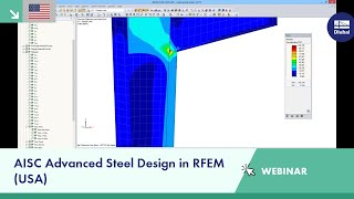 Dlubal Webinar: AISC Advanced Steel Design in RFEM (USA)