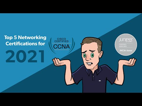 Top 5 Networking Certs for 2021 - YouTube