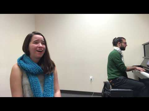 A video of me accompanying the lovely Emmy Carlyle Albritton