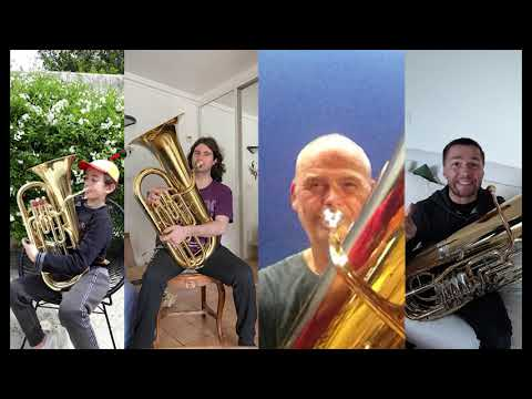 Vidéo - Rainbow in the Dark de Dio par la classe de tuba