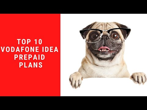 Top 10 prepaid plans from from Vodafone Idea
