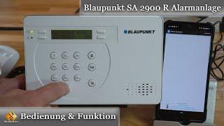 Blaupunkt SA 2900-R Alarmanlage (Funk-Alarmanlage) / installieren und einrichten - Anleitung