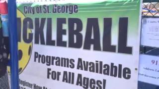 2014 Fall Brawl Pickleball Tournament in St. George, Utah