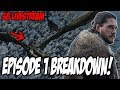 Game Of Thrones Season 8 Episode 1 LIVE Breakdown!