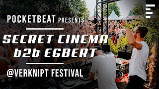 Secret Cinema b2b Egbert - Live @ Verknipt Festival 2019
