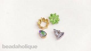 How To Use Swarovski Crystal Fancy Stone Settings