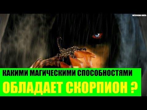 Какими магическими способностями обладает Скорпион?