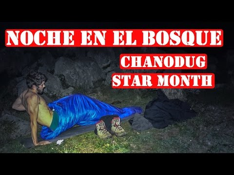 Review y Pruebas Saco De Dormir Chanodug Star Month 400