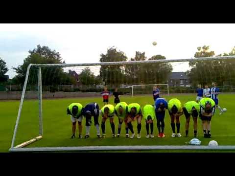 Trainingseindruck der 2. Mannschaft