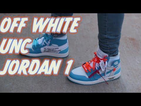 bc4bac052fd Off White Jordan 1 Unc Review On Foot Mp3 Download - NaijaLoyal.Co