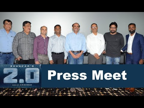 Rajinikanth Robot 2.0 Press Meet