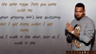 Chris Brown - Undress | Lyric Video