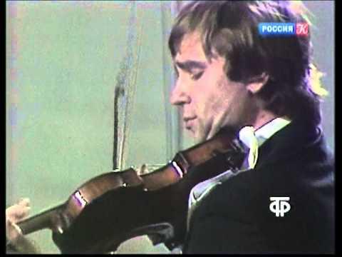 П. И. Чайковский. Концерт для скрипки с оркестром. В. Третьяков и Д. Китаенко, БЗК, 1983
