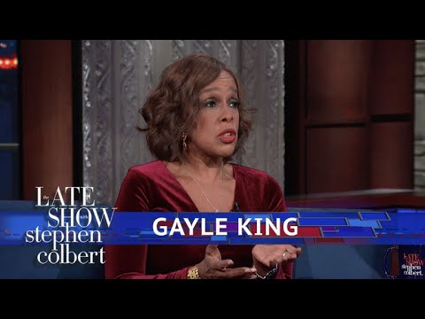 , title : 'Gayle King Reacts To Charlie Rose's Firing'